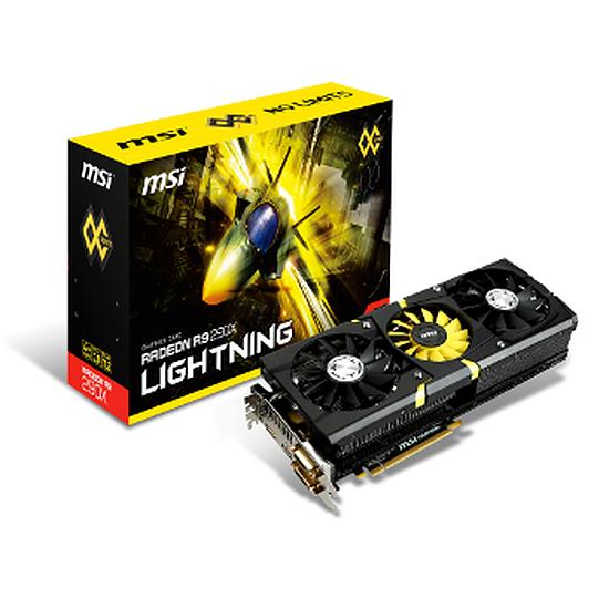 Carte graphique MSI Radeon R9 290X Lightning - 4 Go