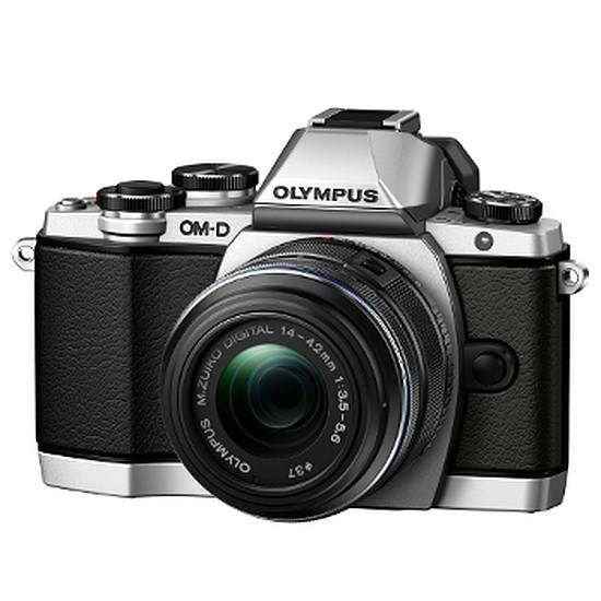 Appareil photo hybride Olympus OM-D E-M10 Silver + 14-42 mm IIR