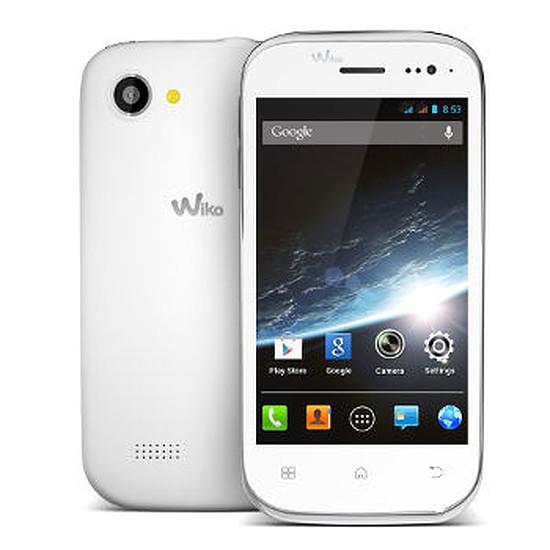 Smartphone et téléphone mobile Wiko Cink Slim 2 (blanc)