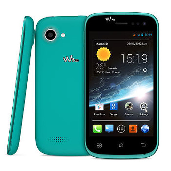 Smartphone et téléphone mobile Wiko Cink Slim 2 (turquoise)