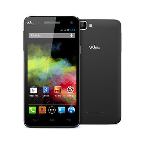 Smartphone et téléphone mobile Wiko Rainbow (noir)