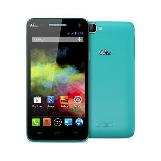 Smartphone et téléphone mobile Wiko Rainbow (turquoise)