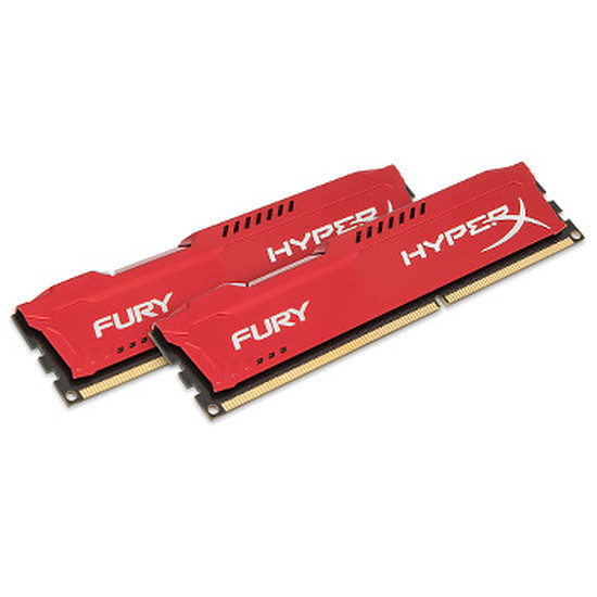 Mémoire HyperX FURY RED DDR3 2 x 8 Go 1333 MHz CAS 9