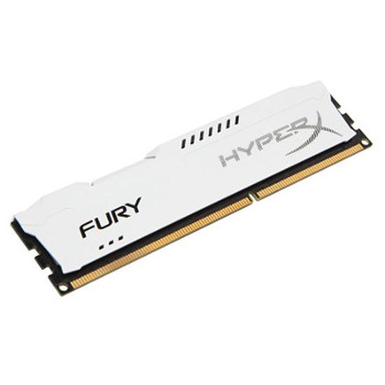 Mémoire HyperX FURY WHITE DDR3 4 Go 1600 MHz CAS 10