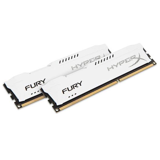 Mémoire HyperX FURY WHITE DDR3 2 x 8 Go 1866 MHz CAS 10