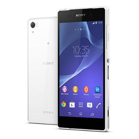 Smartphone et téléphone mobile Sony Mobile Xperia Z2 (blanc)