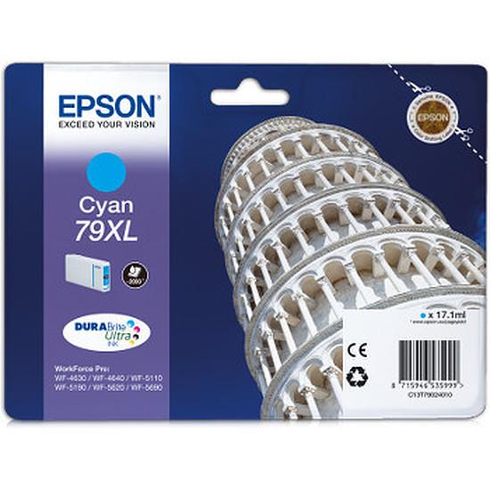 Cartouche imprimante Epson 79XL Cyan - C13T79024010