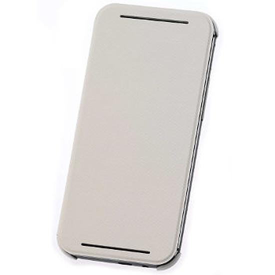 Coque et housse HTC Etui Folio (blanc) - HTC One M8