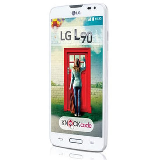 Smartphone et téléphone mobile LG L90 (blanc)