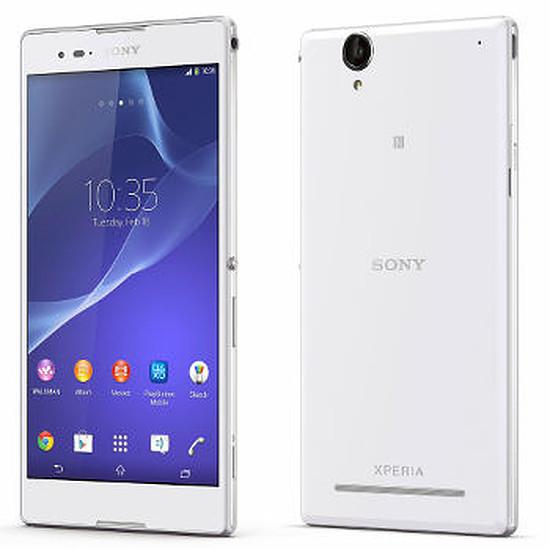 Smartphone et téléphone mobile Sony Mobile Xperia T2 Ultra (blanc)