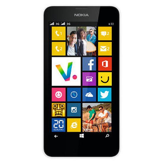 Smartphone et téléphone mobile Nokia Lumia 635 (blanc)
