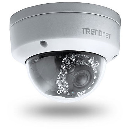 Caméra IP TrendNet TV-IP311PI - Caméra IP dôme PoE IP66 3MP