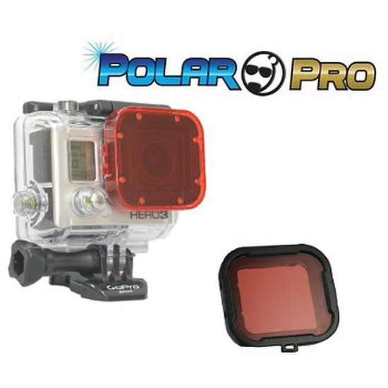 Caméra sport  Filtre en verre Rouge - eaux bleues
