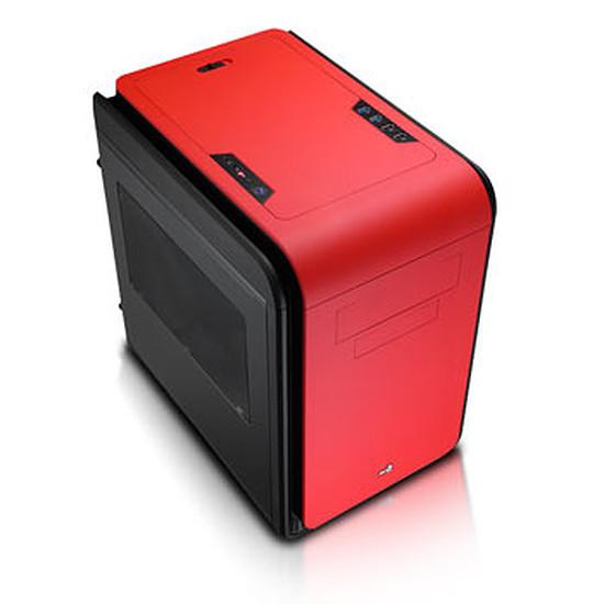 Boîtier PC Aerocool DS Cube Noir / Rouge - Fenêtre