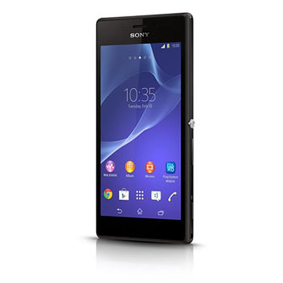 Smartphone et téléphone mobile Sony Mobile Xperia M2 (noir)