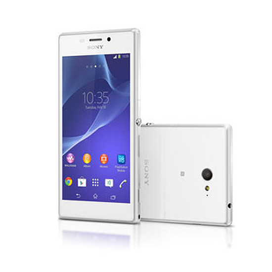 Smartphone et téléphone mobile Sony Mobile Xperia M2 (blanc)