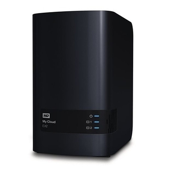 Serveur NAS Western Digital (WD) NAS My Cloud EX2 4 To (2 X 2 To Red)