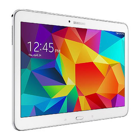 """Tablette Samsung Galaxy Tab 4 10.1"""" 16 Go Wi-Fi Blanche - SM-T530"""