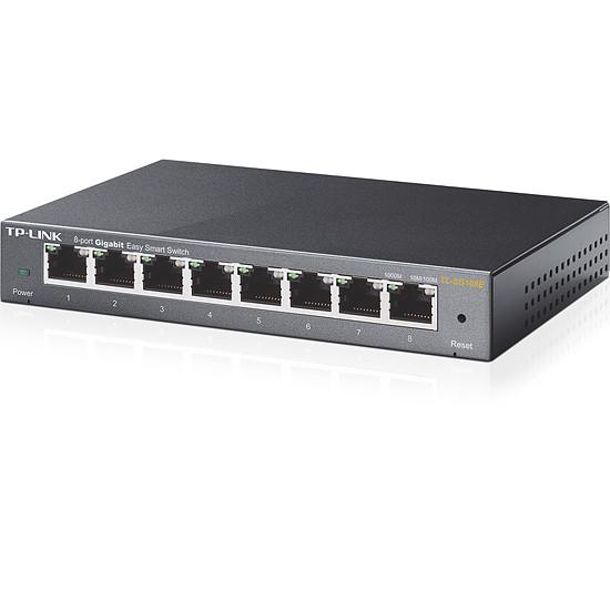 Switch et Commutateur TP-Link TL-SG108E - Autre vue