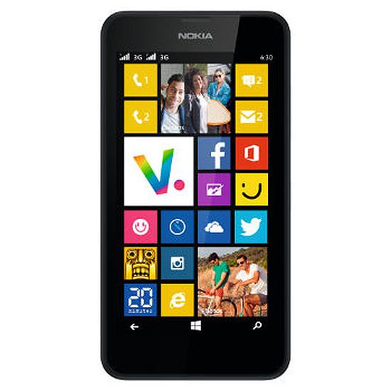 Smartphone et téléphone mobile Nokia Lumia 630 (noir)