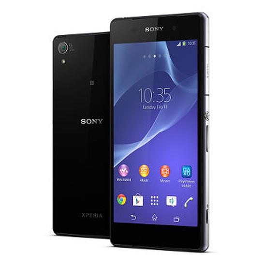 Smartphone et téléphone mobile Sony Mobile Xperia Z2 (noir) + Sony Smartband