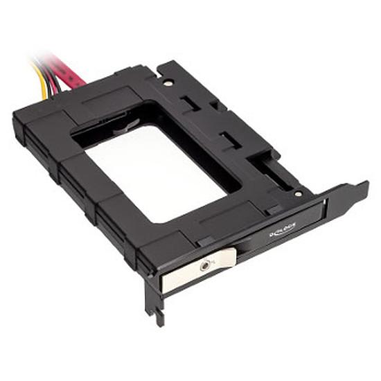 """Rack disque dur interne  Adaptateur PCI vers 1 x 2,5"""" avec verrou"""