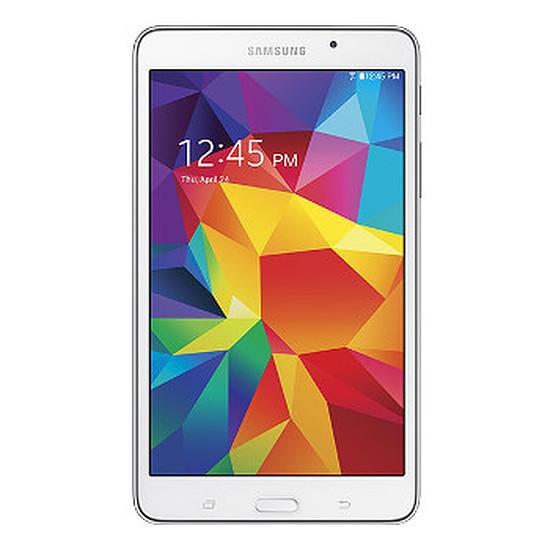 """Tablette Samsung Galaxy Tab 4 7"""" 8 Go Wi-Fi Blanche - SM-T230"""