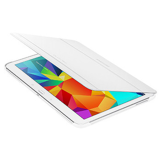"""Accessoires tablette tactile Samsung Etui Book Cover - Galaxy Tab 4 10.1"""" (Blanc)"""