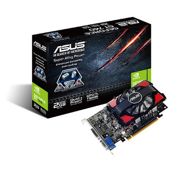 Carte graphique Asus GeForce GT 740 - 2 Go (GT740-2GD3)