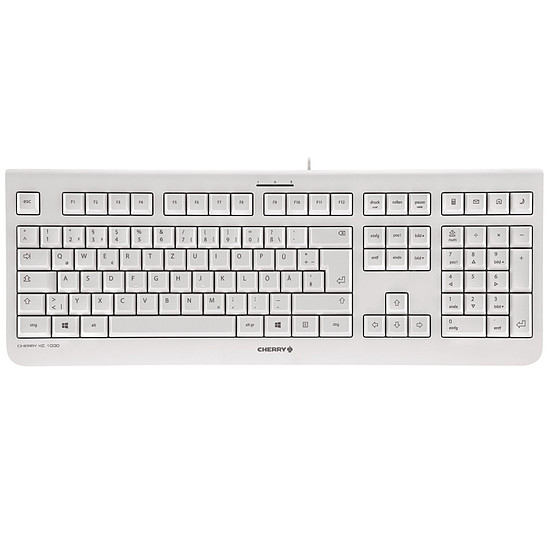 Clavier PC Cherry KC 1000 - Gris