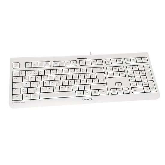 Clavier PC Cherry KC 1000 - Gris - Autre vue