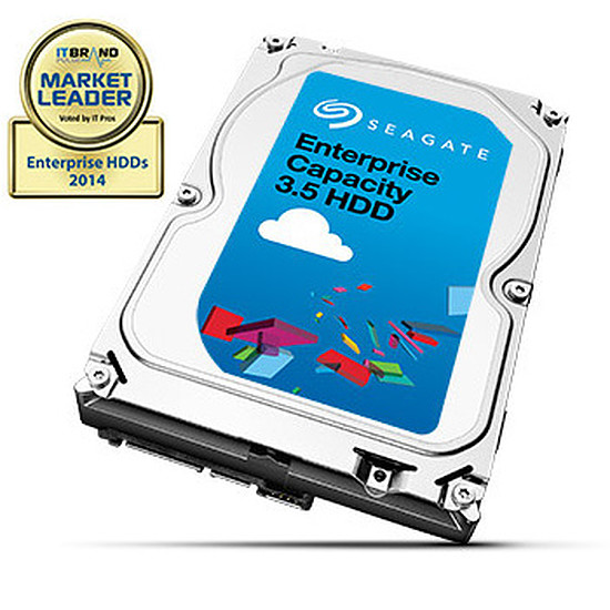 "Disque dur interne Seagate Enterprise Capacity 3.5"" HDD - 6 To"