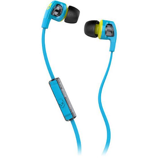 "Casque Audio Skullcandy Écouteurs Smoking Bud 2 avec micro ""Blue / Lime"""
