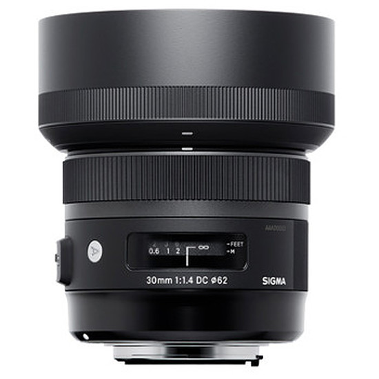 Objectif pour appareil photo Sigma ART. 30mm f/1,4 DC HSM (Canon)