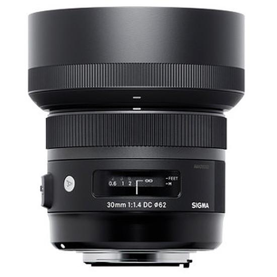 Objectif pour appareil photo Sigma ART. 30mm f/1,4 DC HSM (Nikon)