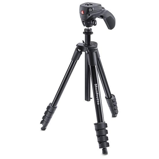 Trépied appareil photo Manfrotto Trépied Compact Action + Rotule joystick Noir