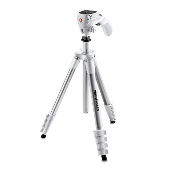 Trépied appareil photo Manfrotto Trépied Compact Action + Rotule joystick Blanc