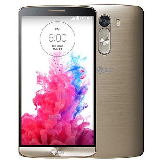 Smartphone et téléphone mobile LG G3 (or) - 16 Go