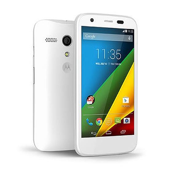 Smartphone et téléphone mobile Motorola Moto G - 4G LTE (blanc)