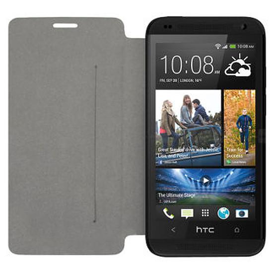 Coque et housse Swiss Charger Etui à rabat (noir) - HTC Desire 610