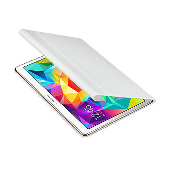 "Accessoires tablette tactile Samsung Etui Book Cover - Galaxy Tab S 10"" (Blanc)"