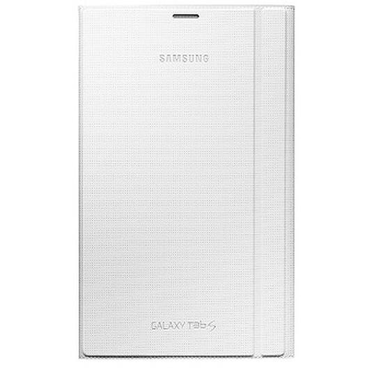 "Accessoires tablette tactile Samsung Étui Book Cover Samsung Galaxy Tab S 8"" (Blanc)"