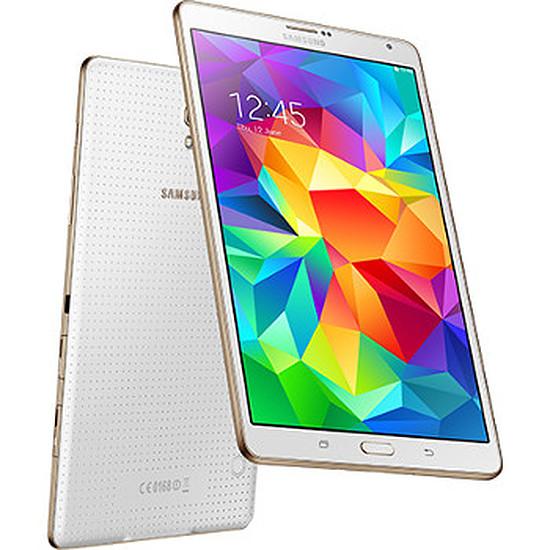 "Tablette Samsung Galaxy Tab S 8"" (blanc)"