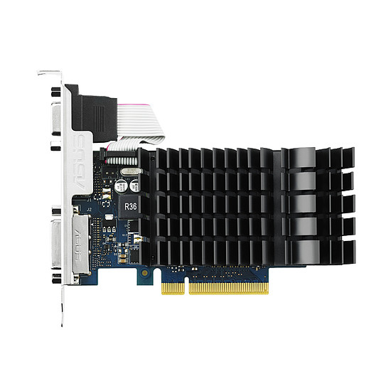 Carte graphique Asus GeForce GT 730 - 2 Go (DDR3) Passive - Autre vue