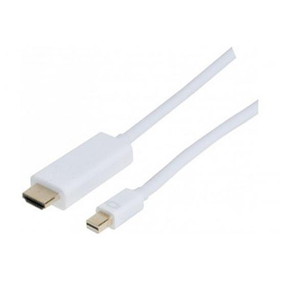DisplayPort  Câble mini DisplayPort / HDMI - 2 m
