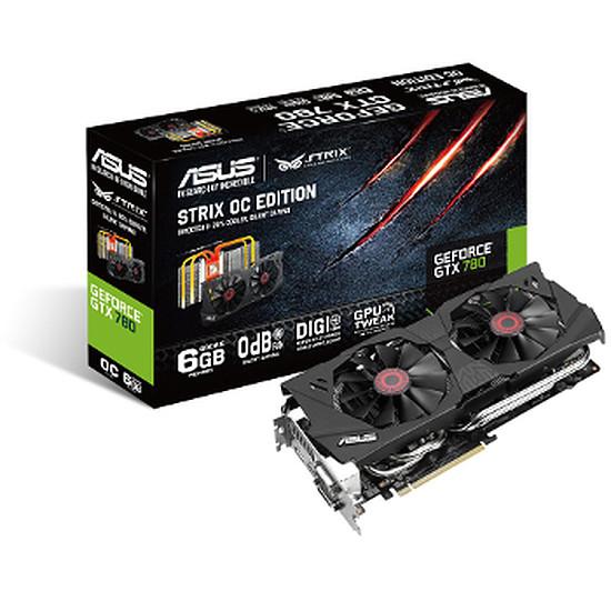 Carte graphique Asus GeForce GTX 780 STRIX OC - 6 Go
