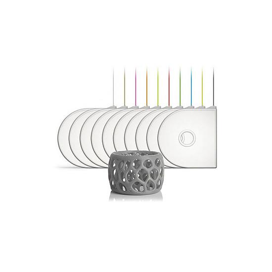 Filament 3D 3DSystems Cartouche CubeX / CubePro (ABS) Argent