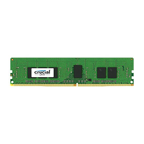 Mémoire Crucial DDR4 4 Go 2133 MHz CAS15 ECC Registered SR x8