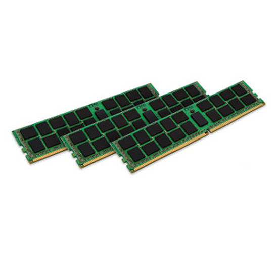 Mémoire Kingston ValueRAM DDR3 3 x 4 Go PC12800 ECC Registered