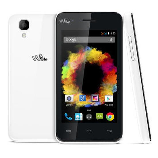 Smartphone et téléphone mobile Wiko Sunset (blanc)